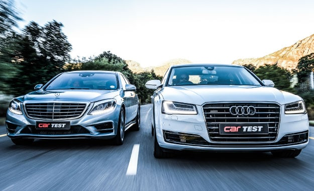 01 Audi A8L 42 TDI vs. Mercedes Benz S500 BE