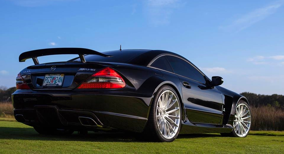 Mercedes Sl 65 Amg On Hre Performance Wheels