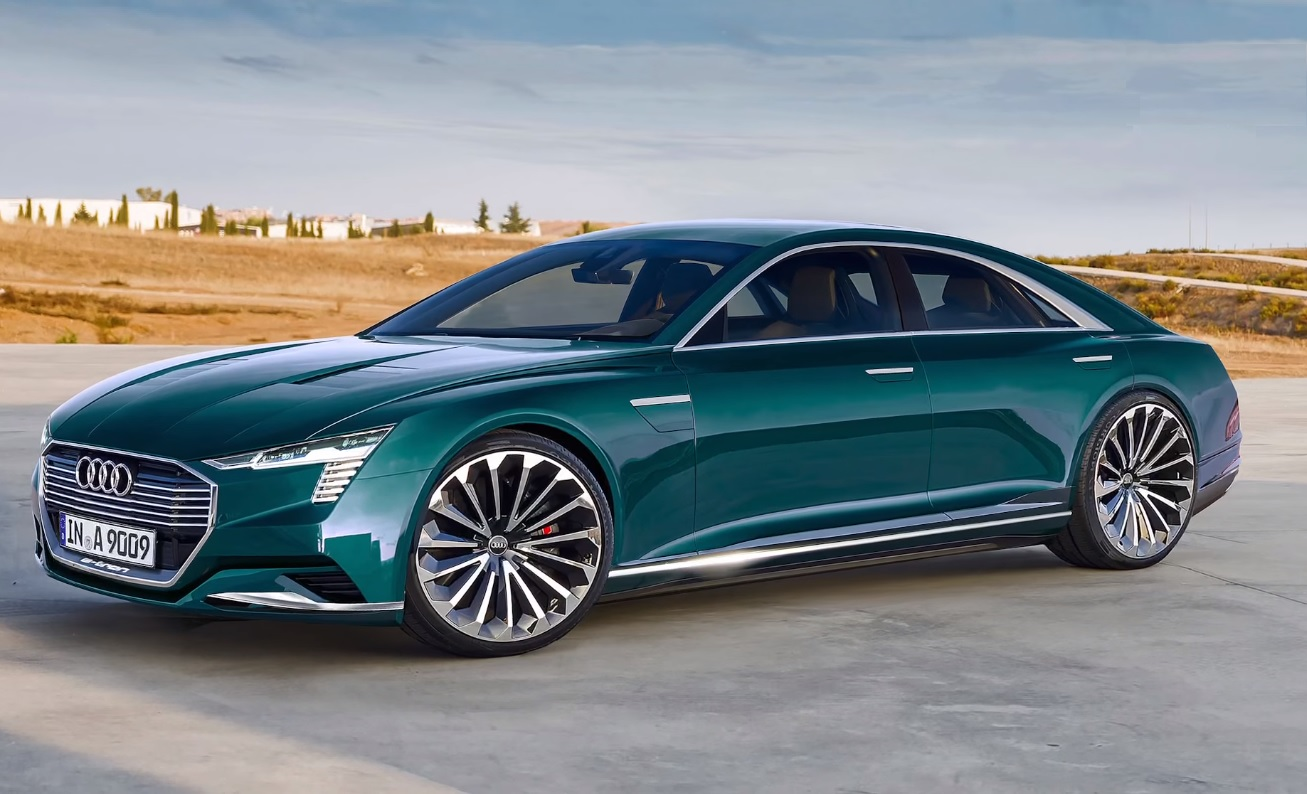 2020 Audi A9 C E Tron The Four Door Luxury Electric Car