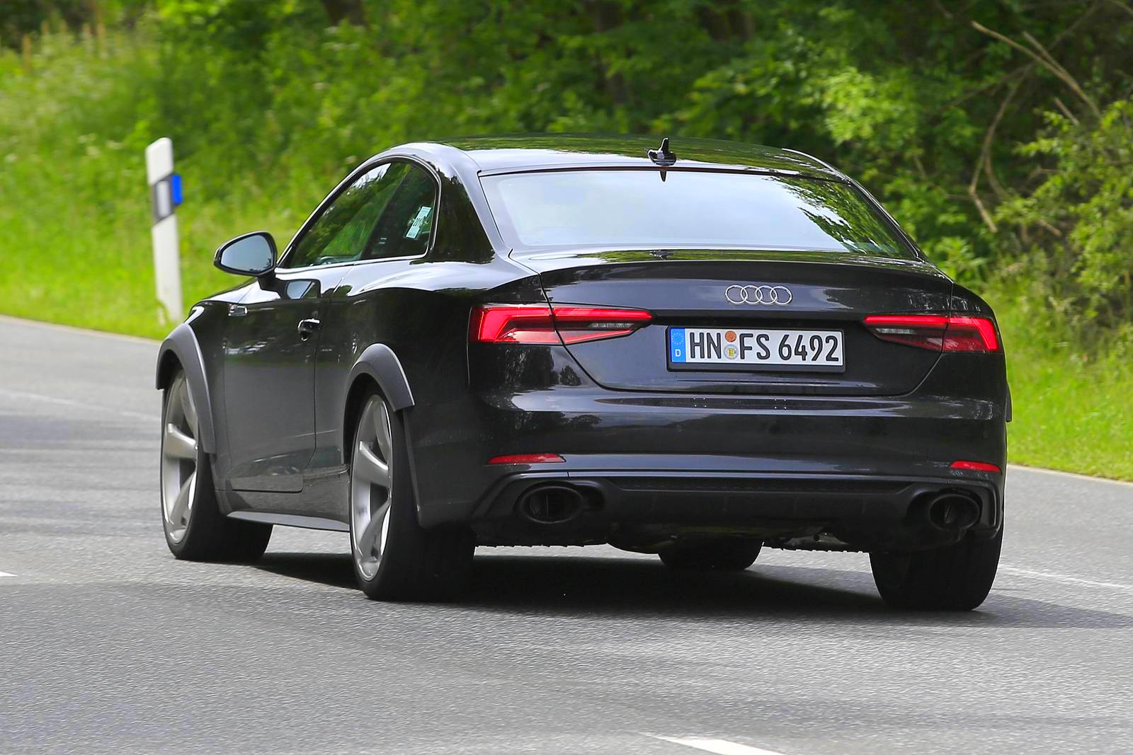 2018 Audi Rs5 Test Mule Spotted