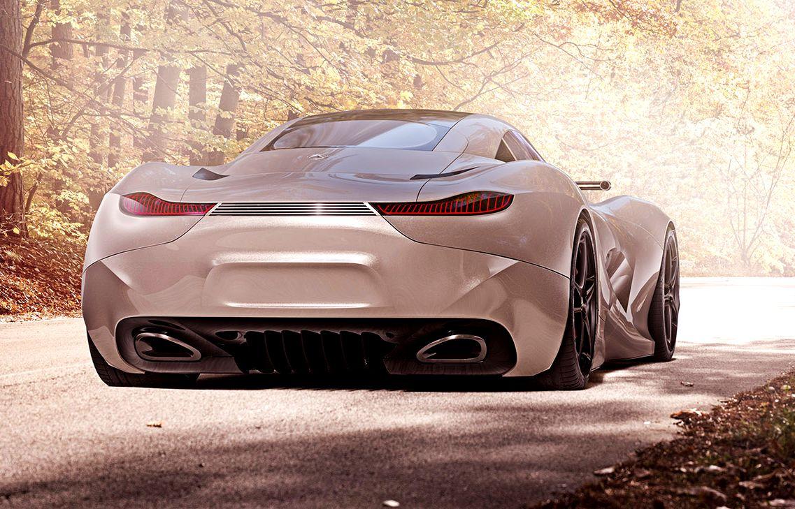 2020 mercedes benz amg supercar concept for Mercedes benz future car