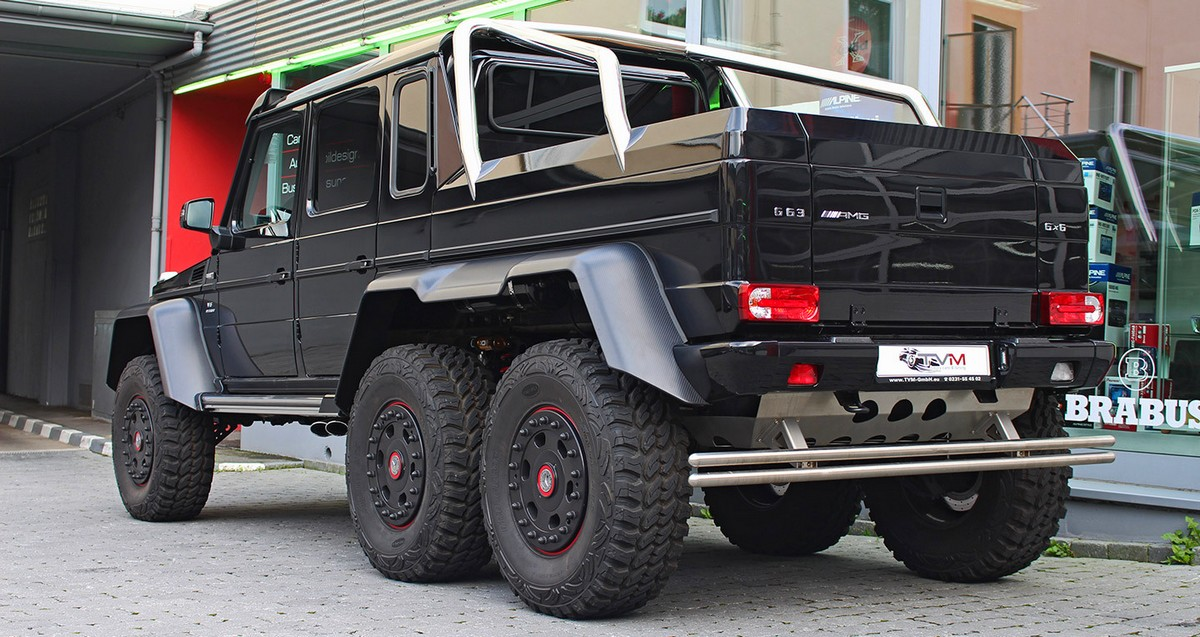 Mercedes benz g63 amg 6x6 exhaust sound accelerations for Mercedes benz g63 6x6 amg