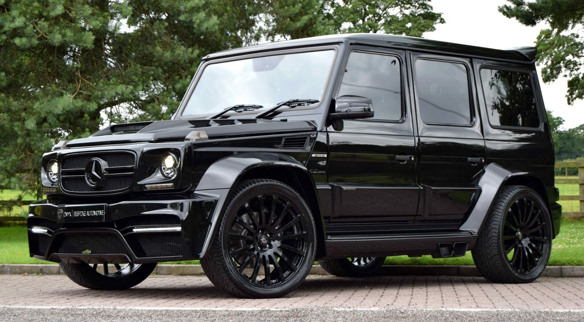 Mercedes benz g class onyx savage suv with 700hp for Mercedes benz suv g class
