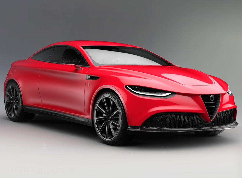 2016 Alfa Romeo Gran Turismo Leggera Concept
