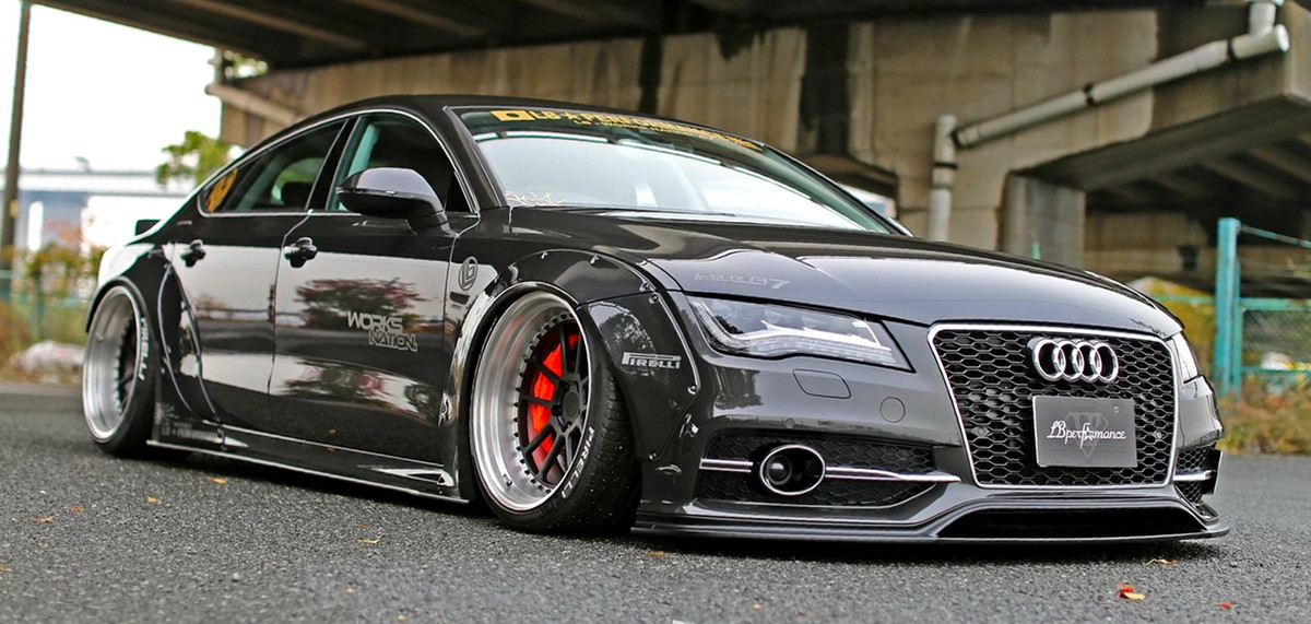Audi A7 Amp S7 New Widebody Kit By Liberty Walk