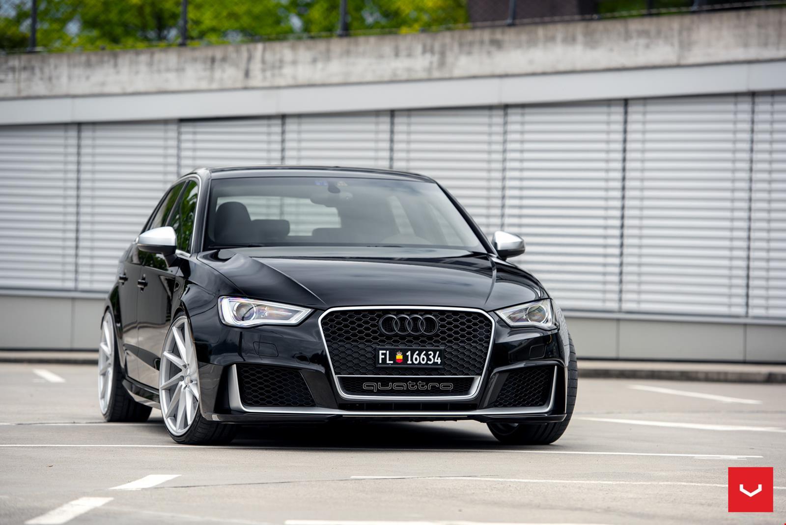 Audi Rs3 On Vossen Wheels Photos