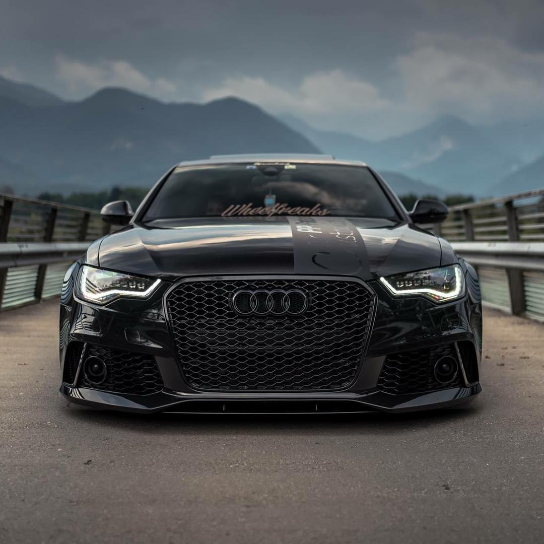bagged audi rs6 sedan on z performance wheels. Black Bedroom Furniture Sets. Home Design Ideas