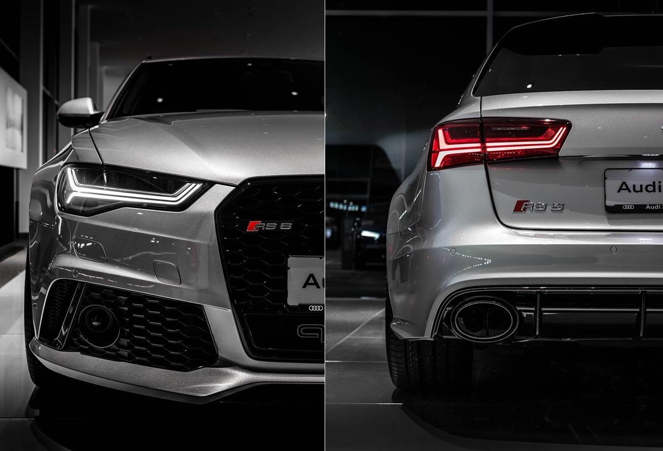 Spectacular Gray Audi Rs6 Performance 605 Hp Photos