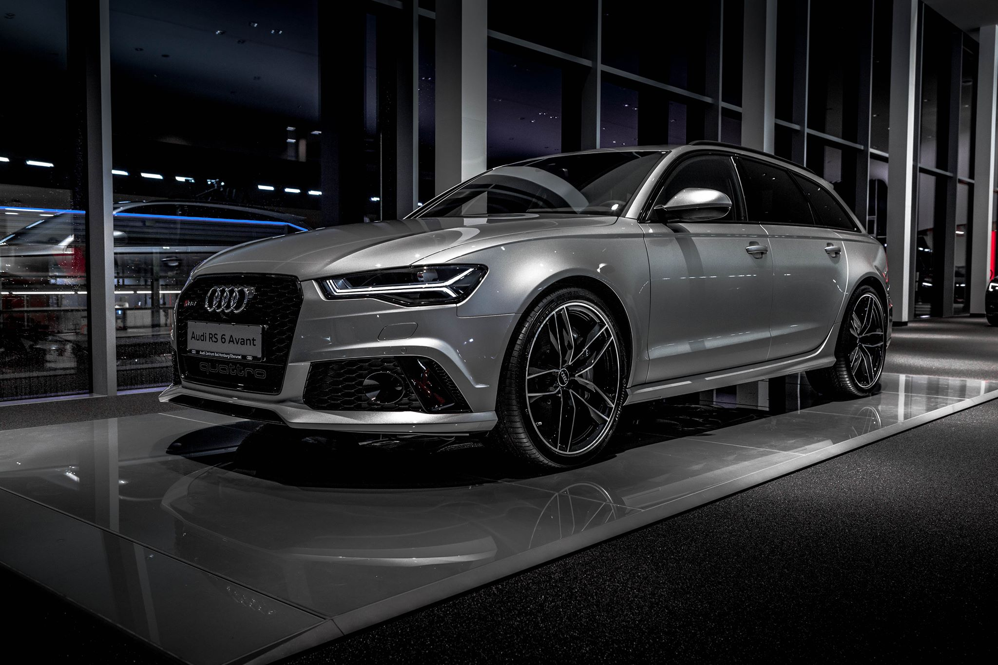Spectacular Gray Audi Rs6 Performance 605 Hp Photos
