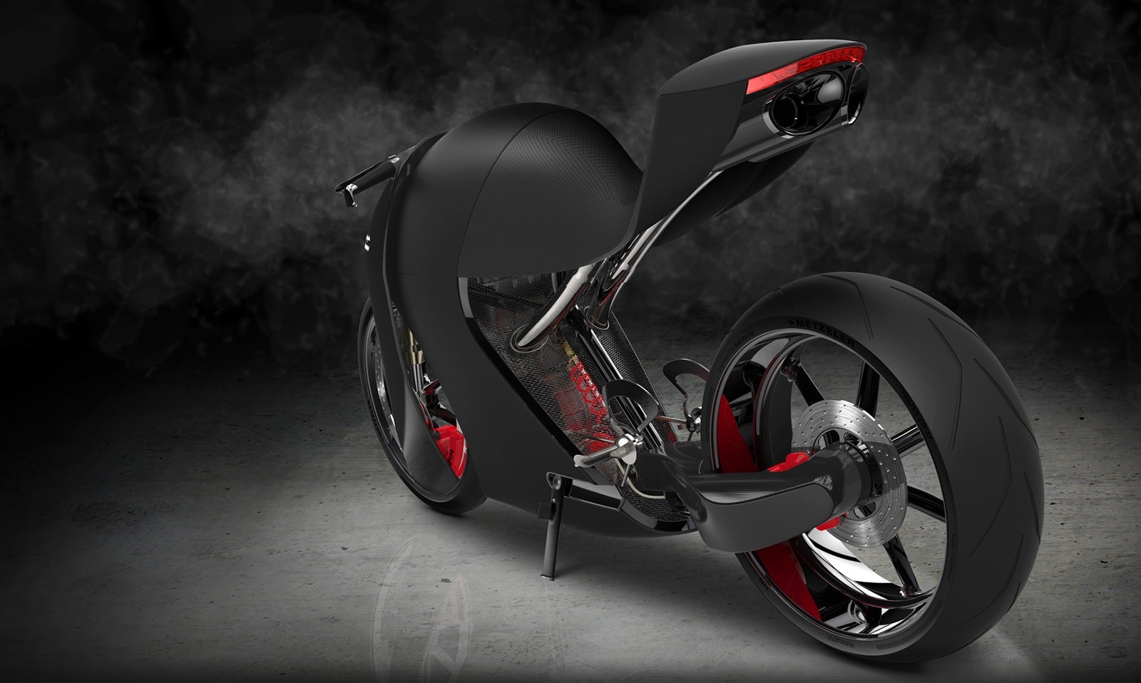 Audi Rr Concept Bike The Hybrid Superbike