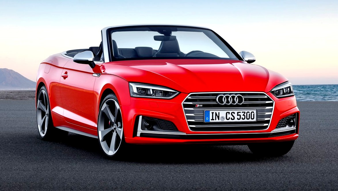 2017 audi s5 cabriolet sexy beast with 354 hp. Black Bedroom Furniture Sets. Home Design Ideas