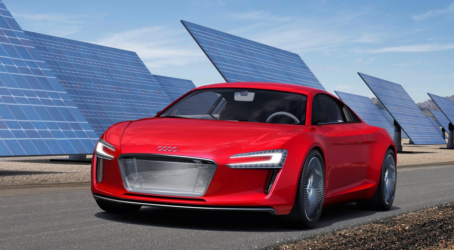 The Audi E Tron Concept 313hp Review And Pics