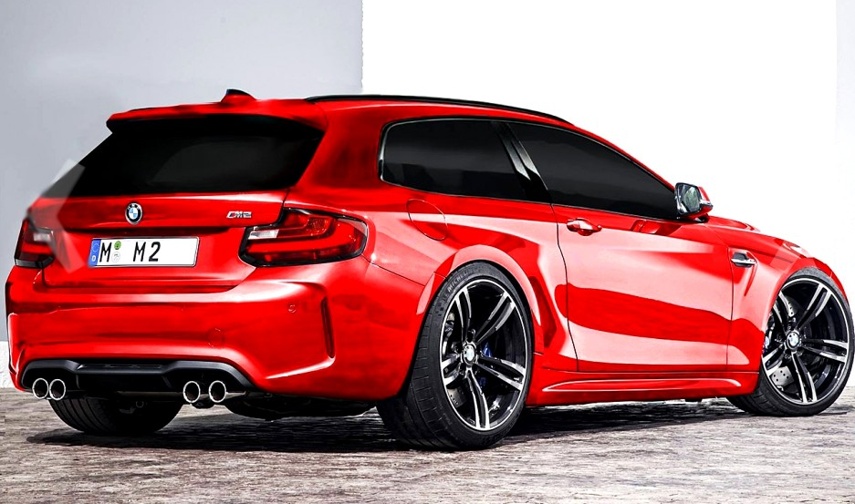 Bmw M2 Shooting Brake New Renders Crazy