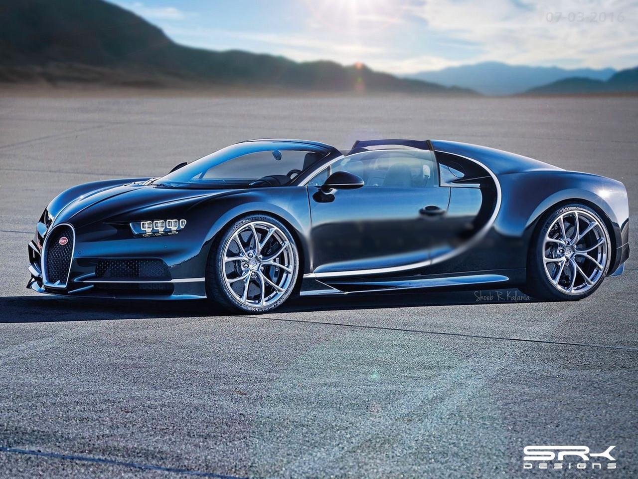 2018 Bugatti Chiron Grand Sport The Convertible Version
