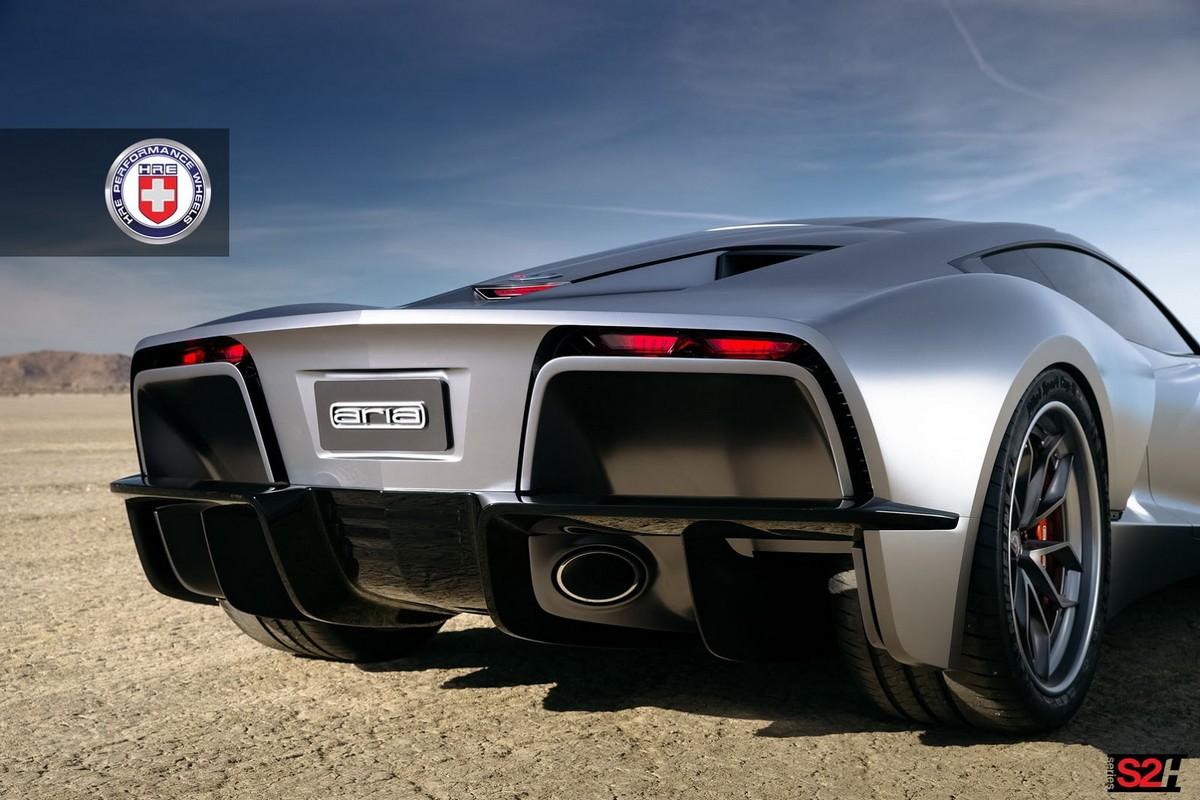 Aria Concept For A Mid Engine C8 Corvette