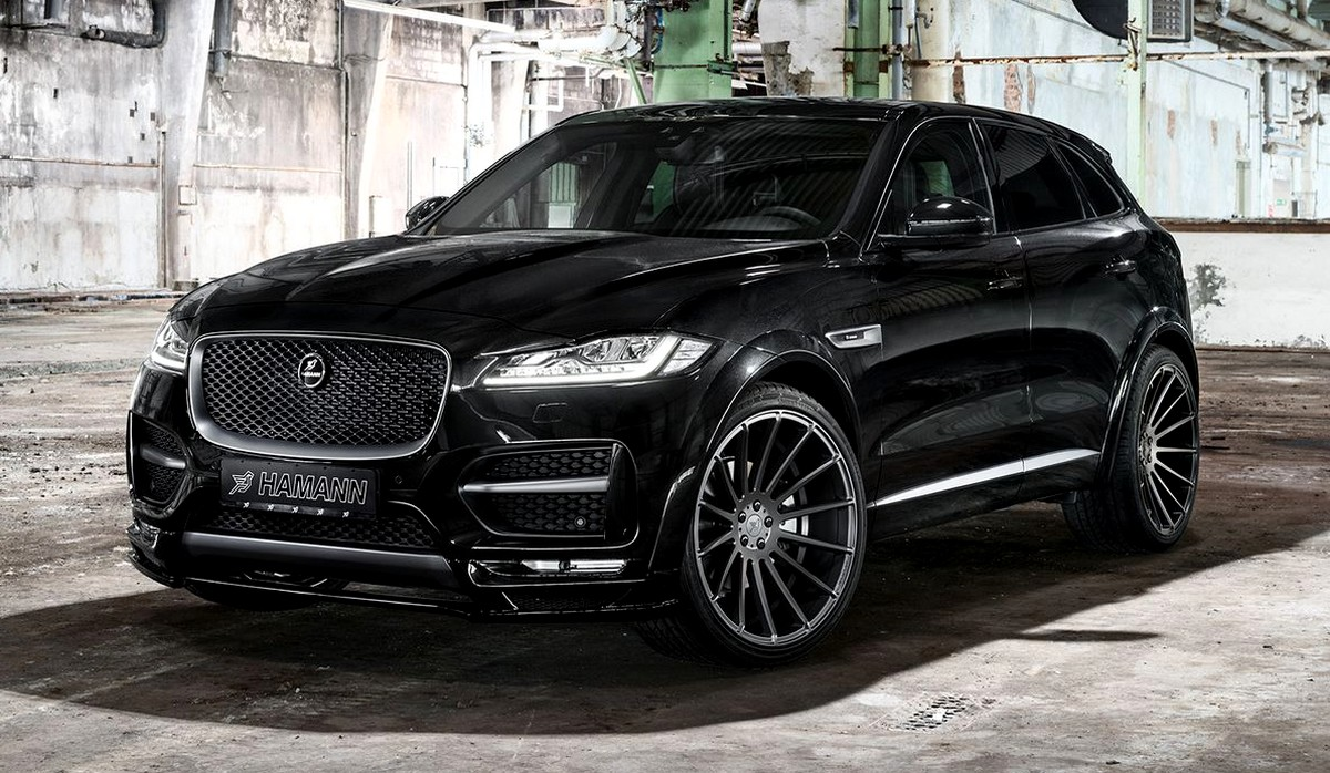 jaguar f pace by hamann more agressive sporty. Black Bedroom Furniture Sets. Home Design Ideas