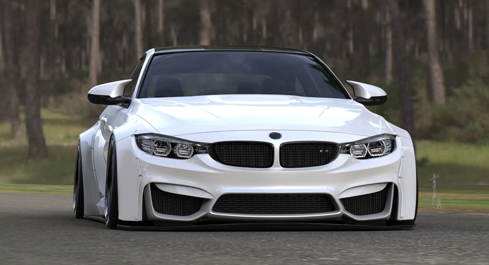 Liberty Walk Give The Bmw M4 A New Look