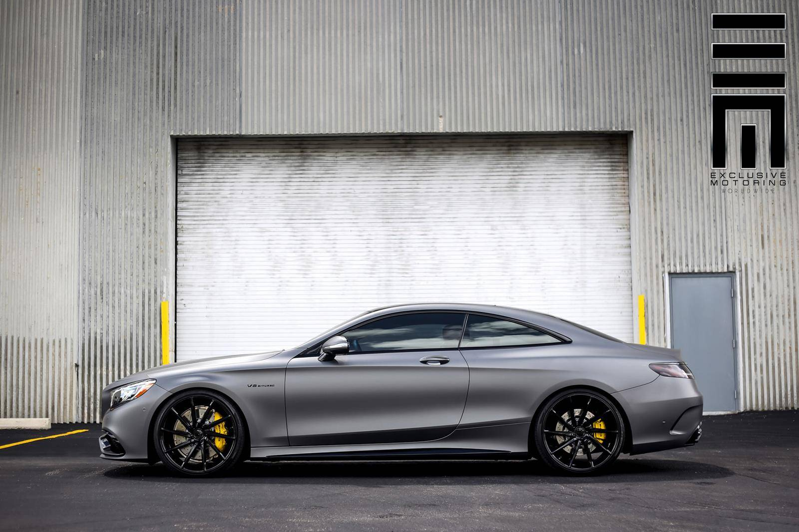 Mercedes benz s63 amg coupe on vossen wheels for Mercedes benz wheel