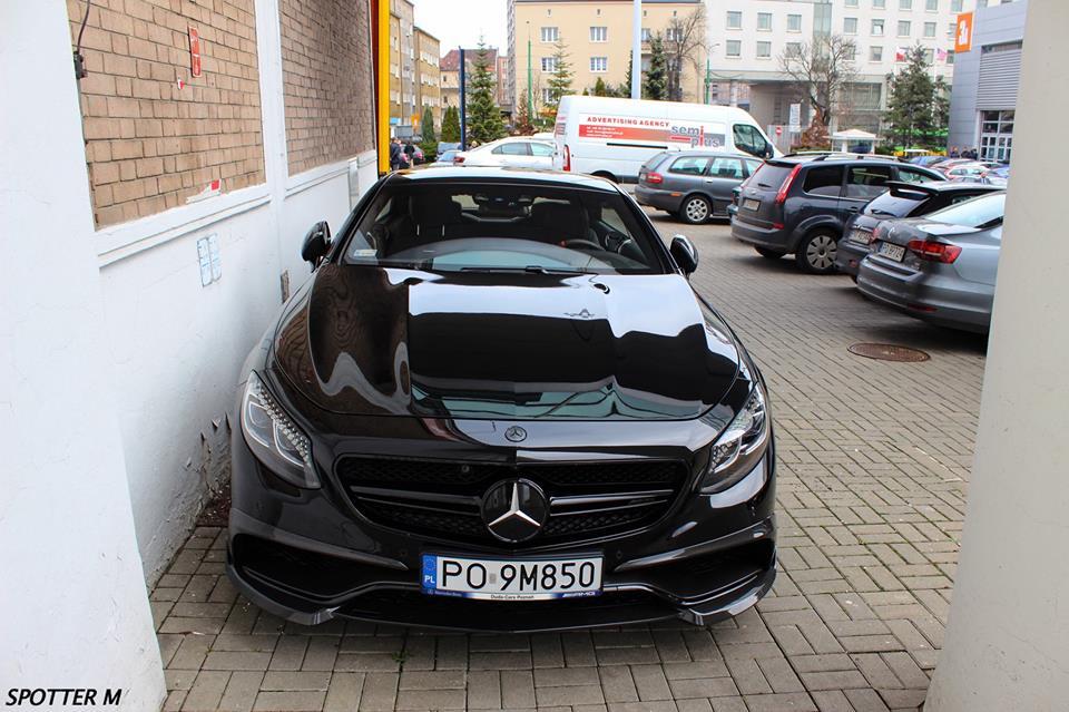 All Black Mercedes Benz S63 Amg Coupe Photos