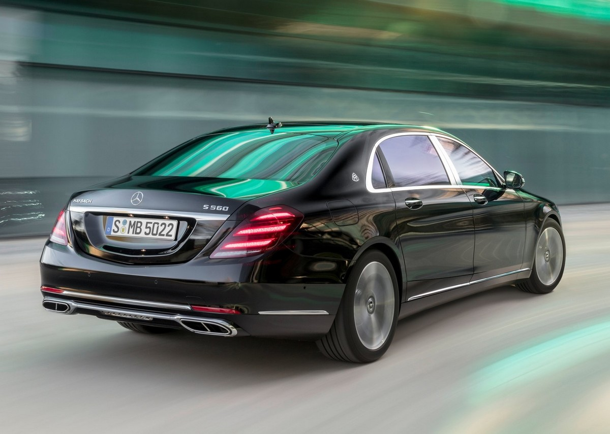 mercedes benz reveals the 2018 s class s63 s65 maybach. Black Bedroom Furniture Sets. Home Design Ideas