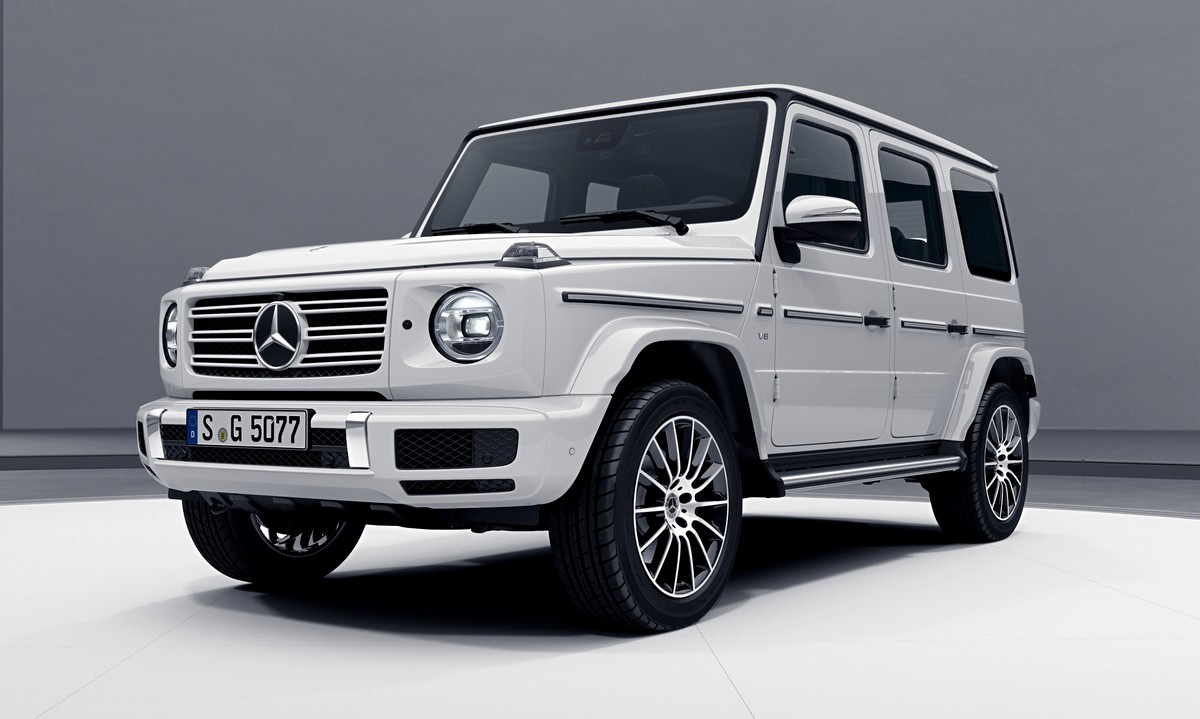 mercedes benz g class amg line with more style. Black Bedroom Furniture Sets. Home Design Ideas