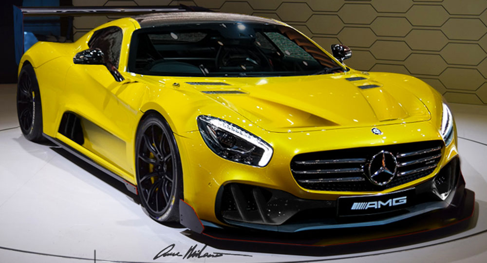 Would This Be The New Mercedes Amg Gt R