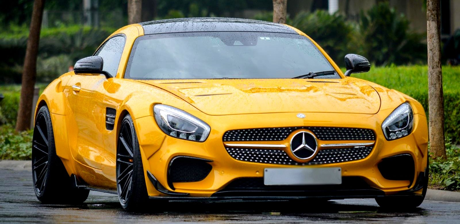 prior mercedes benz amg gt s on vossen wheels. Black Bedroom Furniture Sets. Home Design Ideas