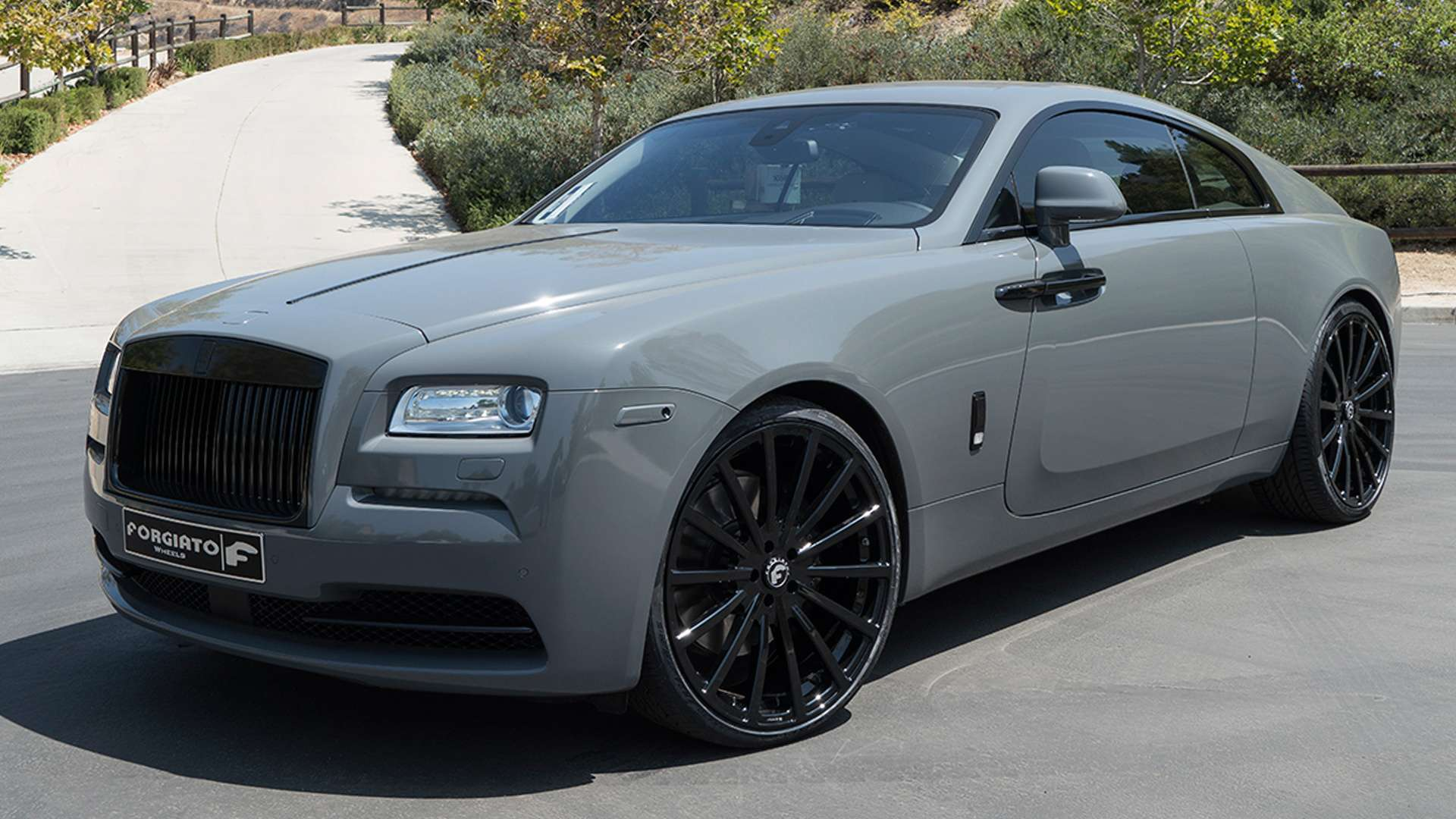 Rolls Royce Wraith Rdb On Forgiato Wheels Photos