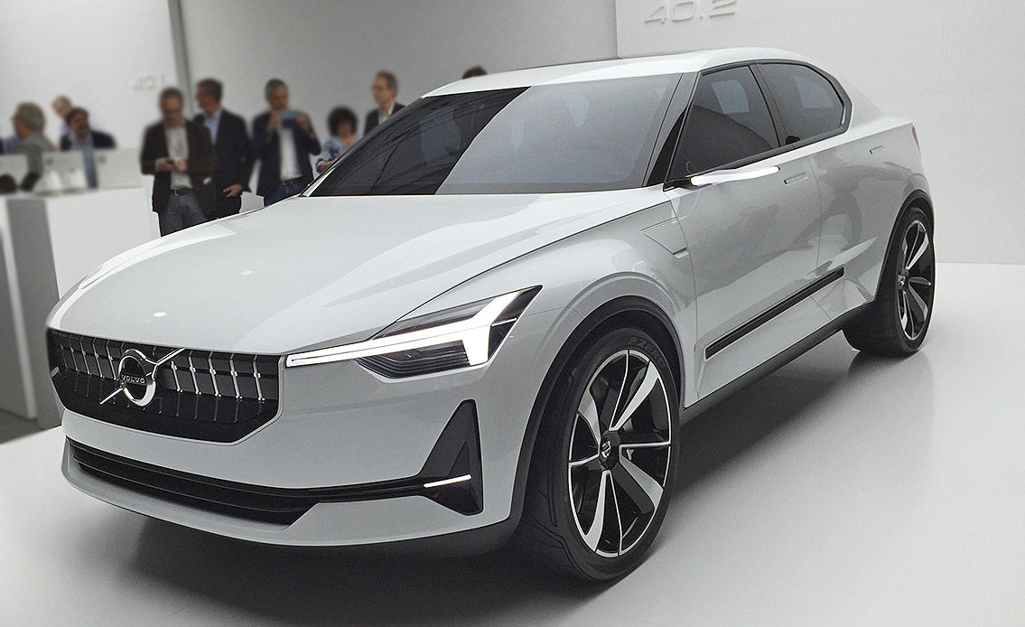 Volvo Revealed New 40 Series Concept Models