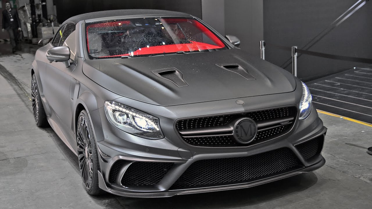 S63 2018 >> Mansory Mercedes S63 AMG Convertible in Action