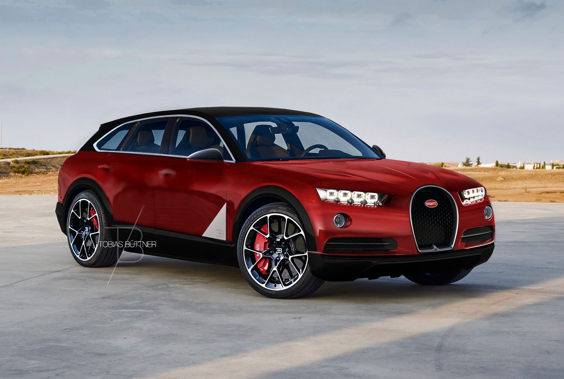 Lancer Gt 2018 >> Is This Rendered Bugatti SUV Crazy Awesome or Crazy Stupid?