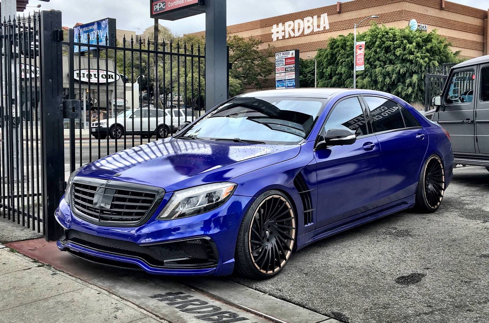 Blue Mercedes S Class By Rdb Savage