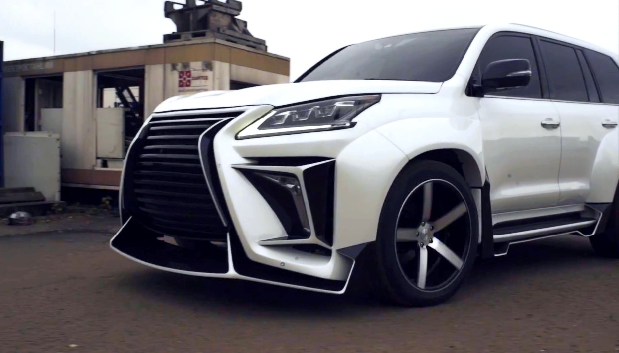 Lexus Lx 570 Tunned By Pro Service Beast