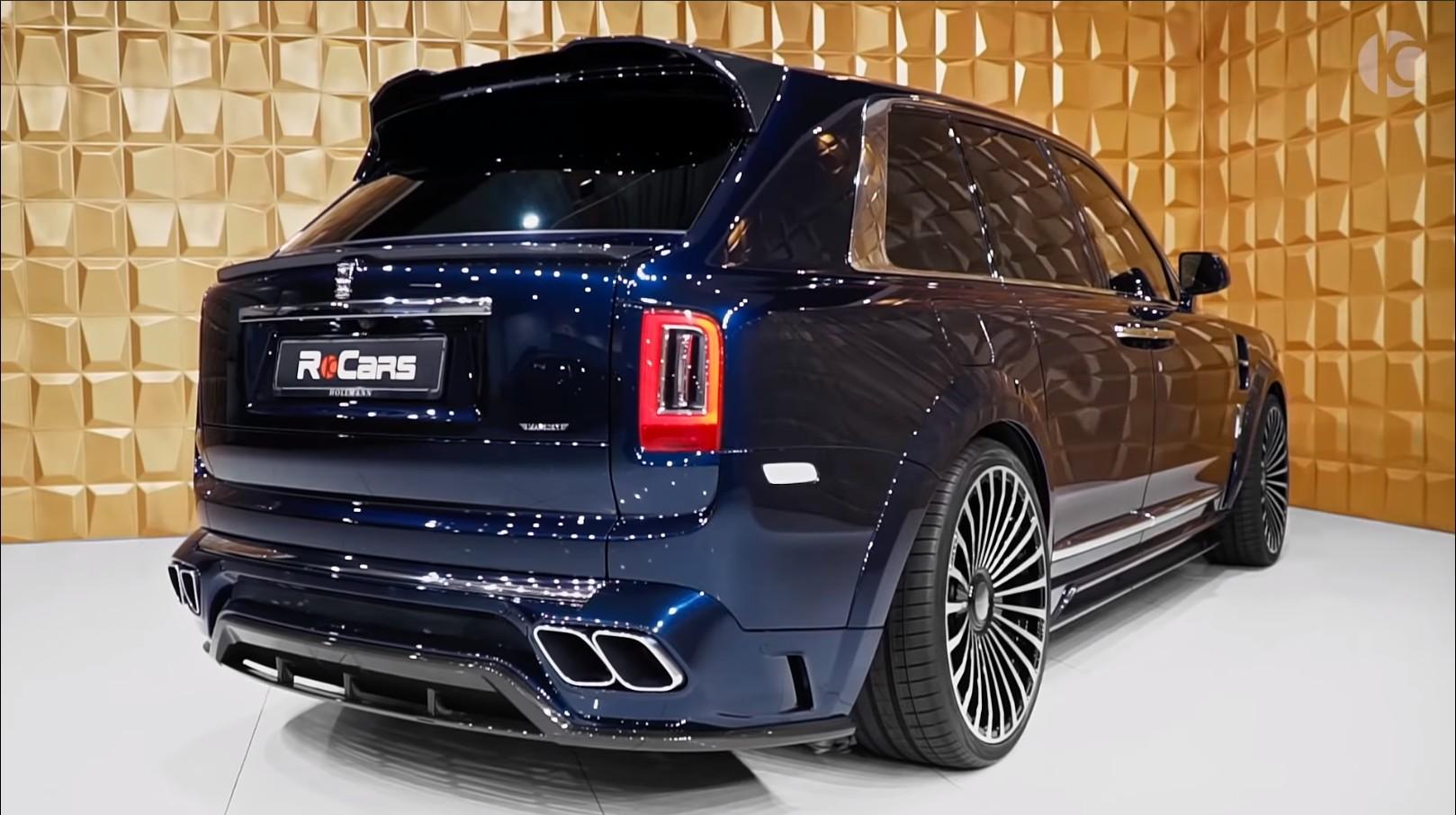 2020 Mansory Rolls Royce Cullinan