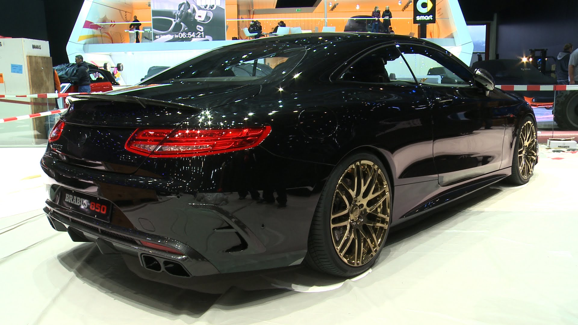 Brabus S63 850 Coupe Interior And Exterior Details