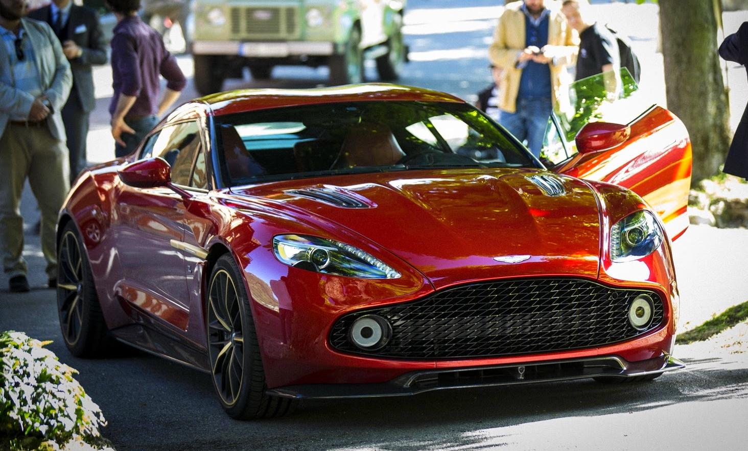 New Aston Martin Vanquish Zagato Concept - New aston martin zagato